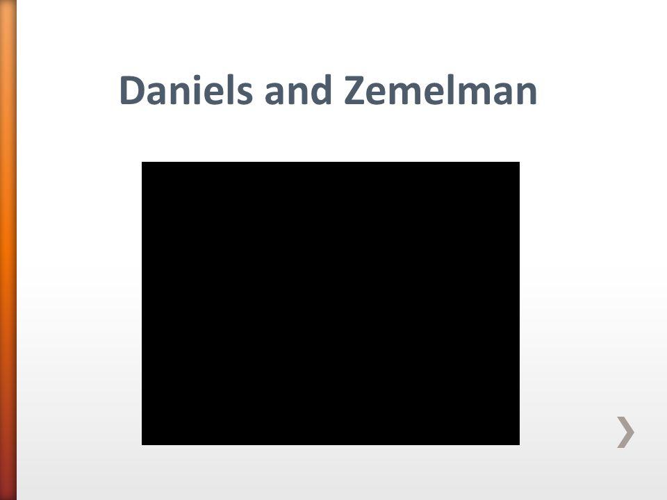 Daniels and Zemelman