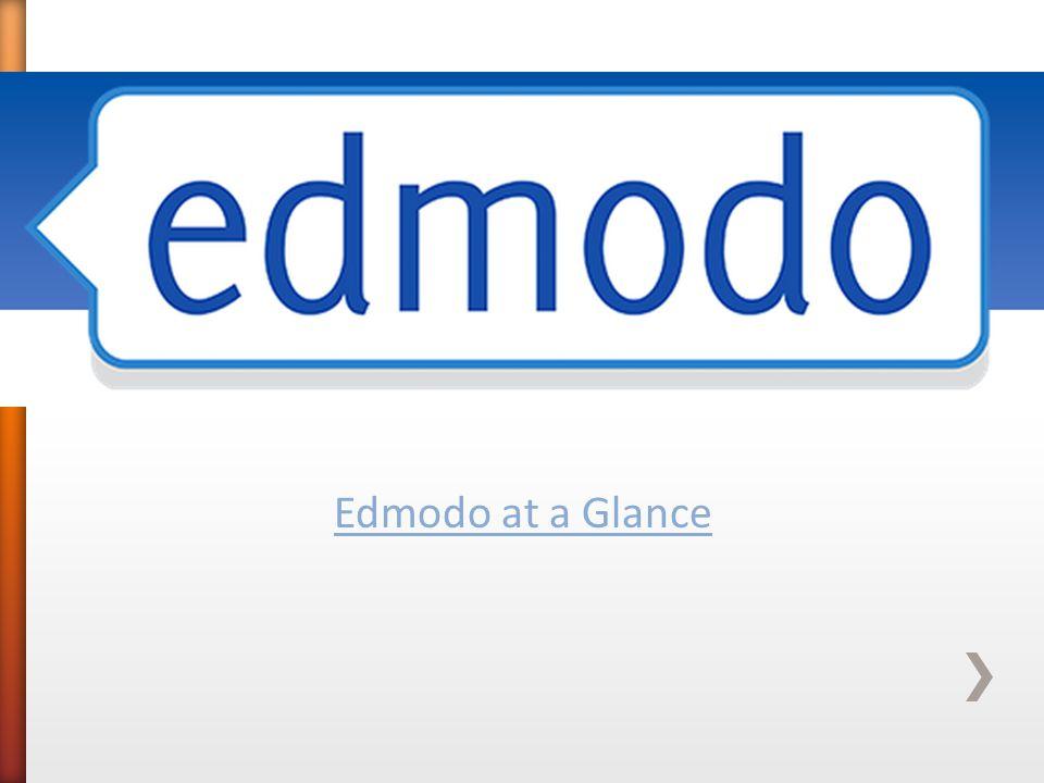 Edmodo at a Glance