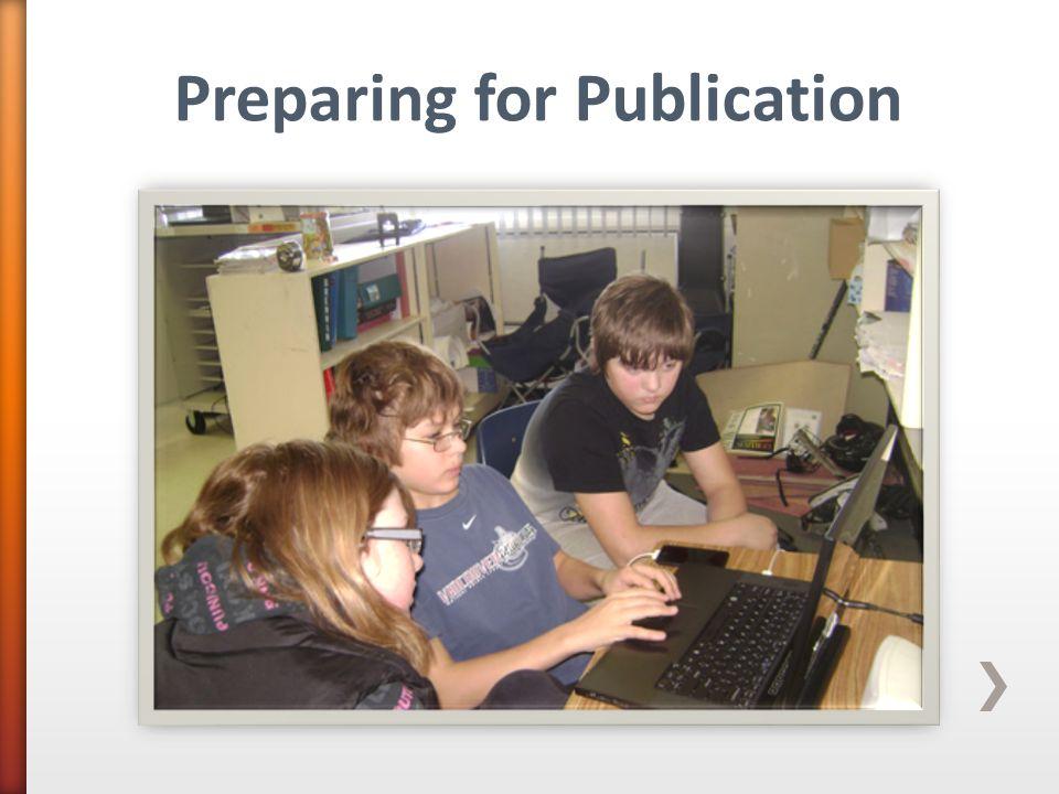 Preparing for Publication
