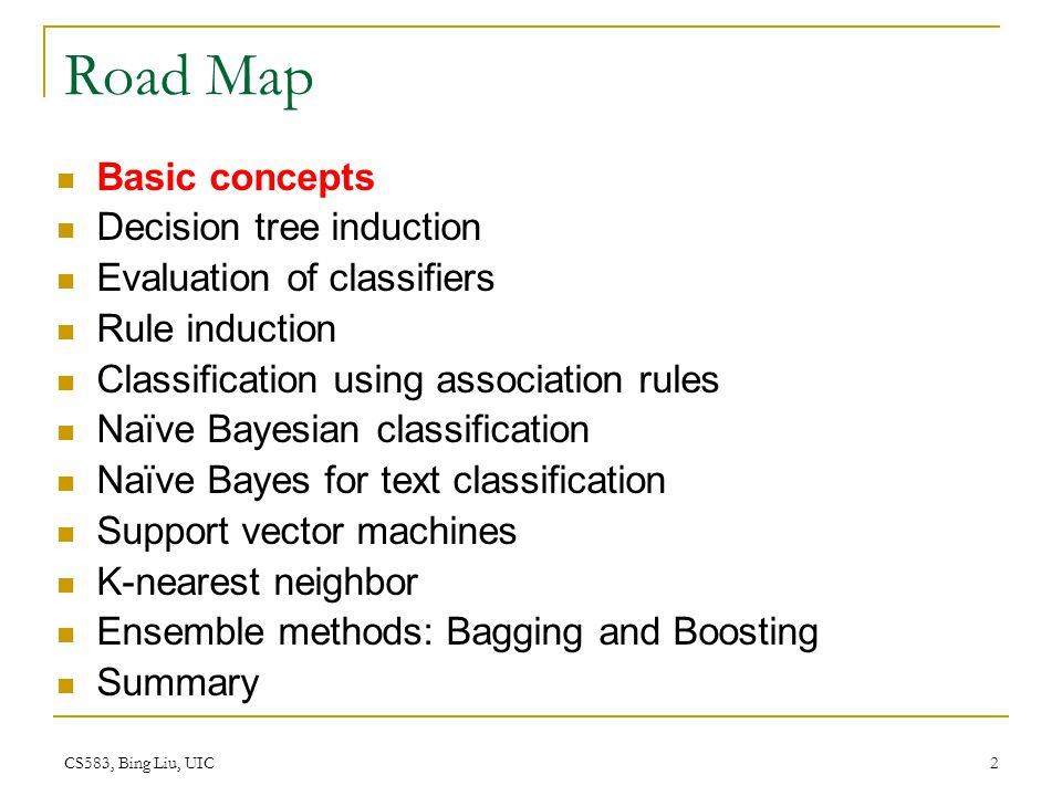 CS583, Bing Liu, UIC 153 Discussions kNN can deal with complex and arbitrary decision boundaries.