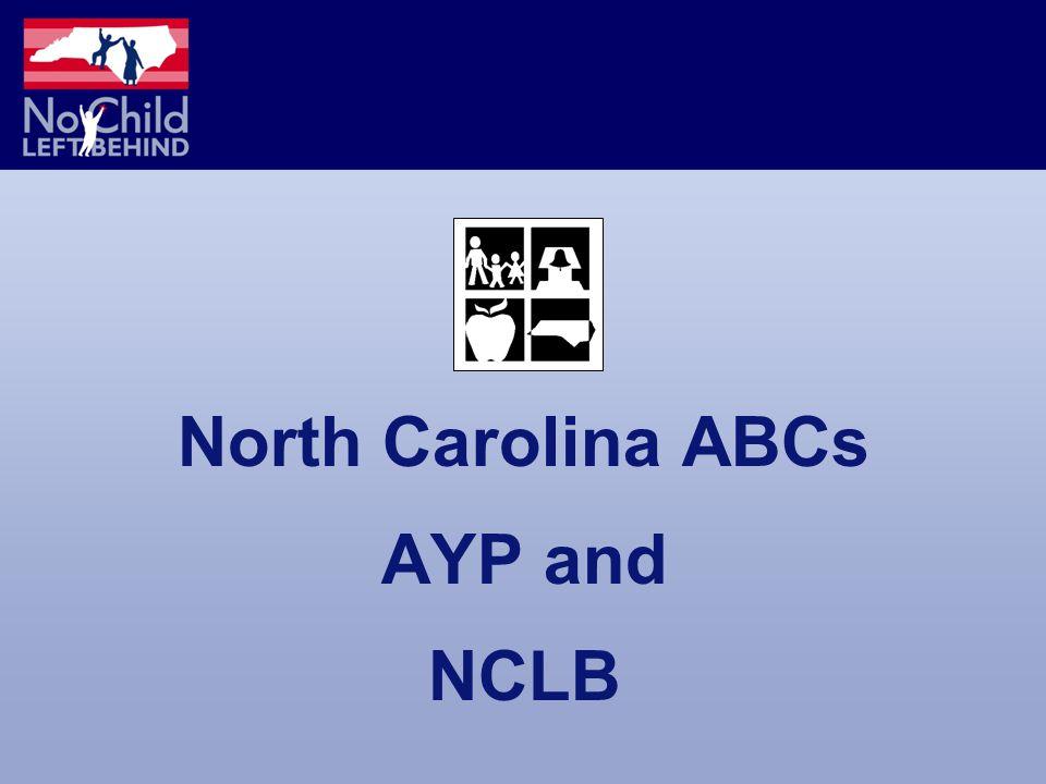 North Carolina ABCs AYP and NCLB