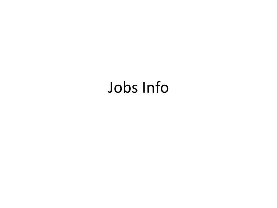 Jobs Info