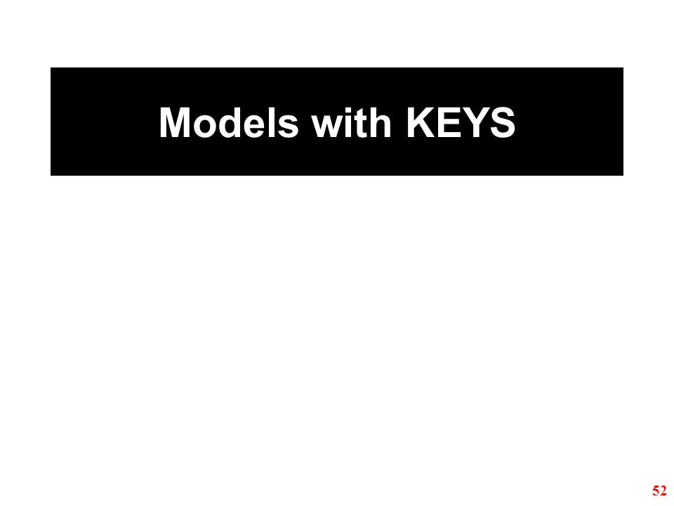 Models with KEYS 52