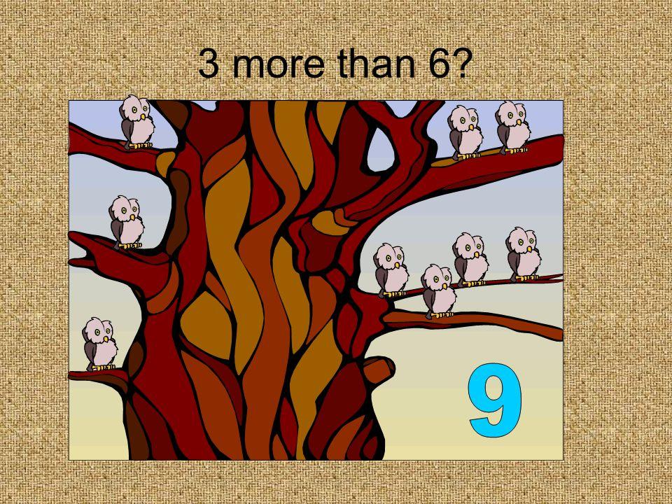 3 less than 7