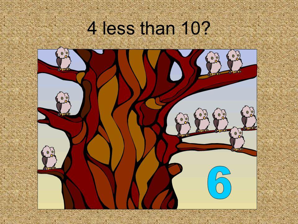 3 more than 6