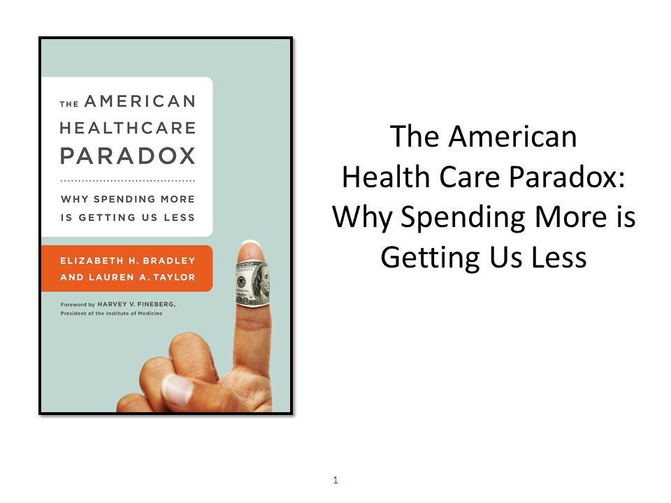 The American Health Care Paradox: Why Spending More is Getting Us Less 1