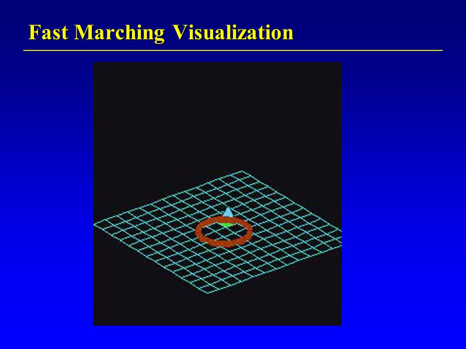 Fast Marching Visualization