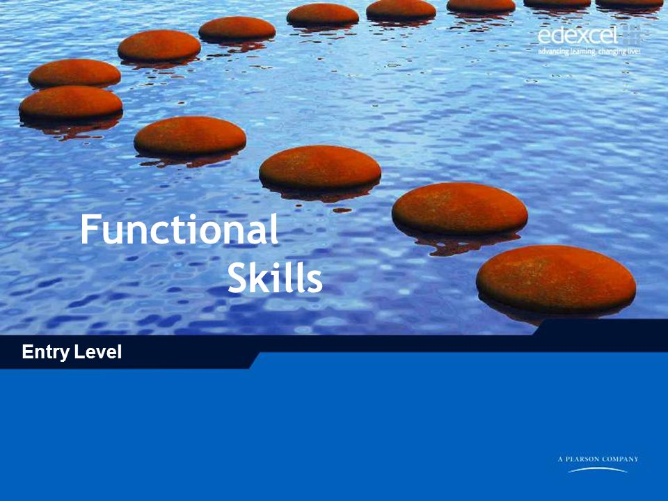 Functional Skills Entry Level