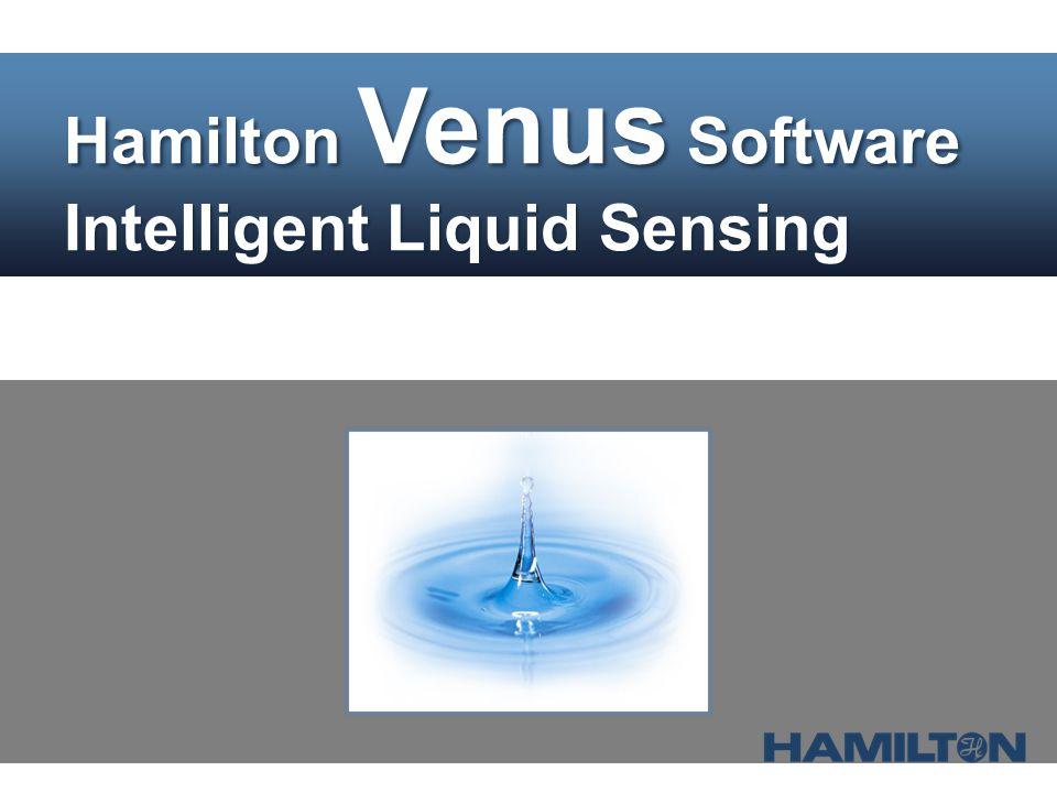 Picture Hamilton Venus Software Intelligent Liquid Sensing