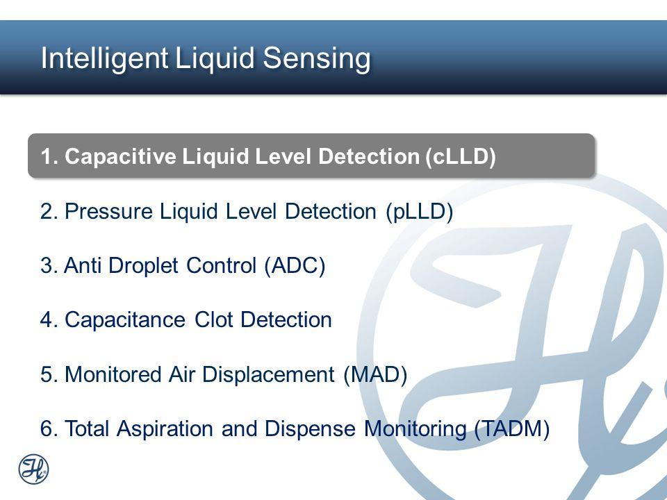 2 Intelligent Liquid Sensing 1. Capacitive Liquid Level Detection (cLLD) 2. Pressure Liquid Level Detection (pLLD) 3. Anti Droplet Control (ADC) 4. Ca
