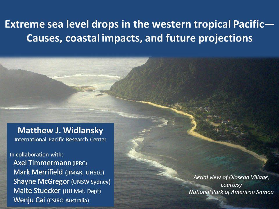 Zonal SPCZ Defining a zonal SPCZ event : GPCP rainfall Moderate El Niño La Niña Neutral PC1 > 1 and PC2 > 0 First principal component Second principal component