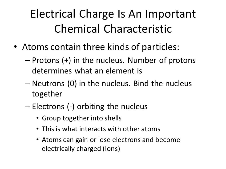 Chemical Bonds Hold Molecules Together Ionic: Ions of opposite charge attract each other.