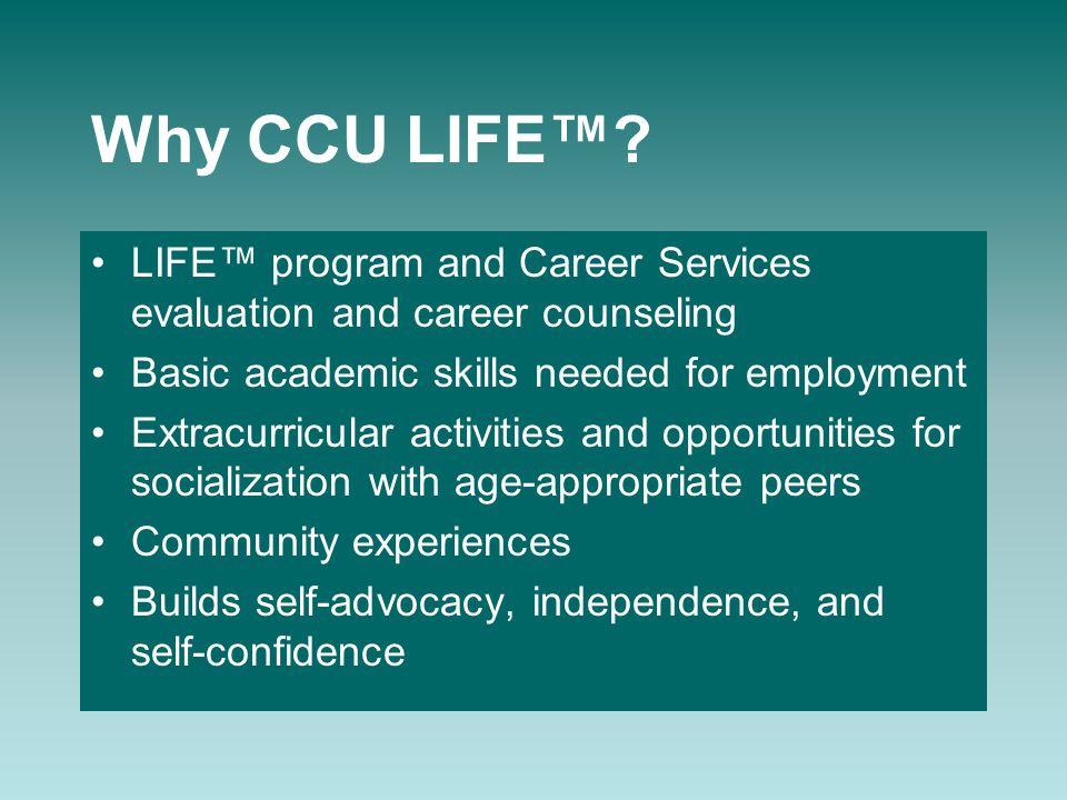 Why CCU LIFE™.
