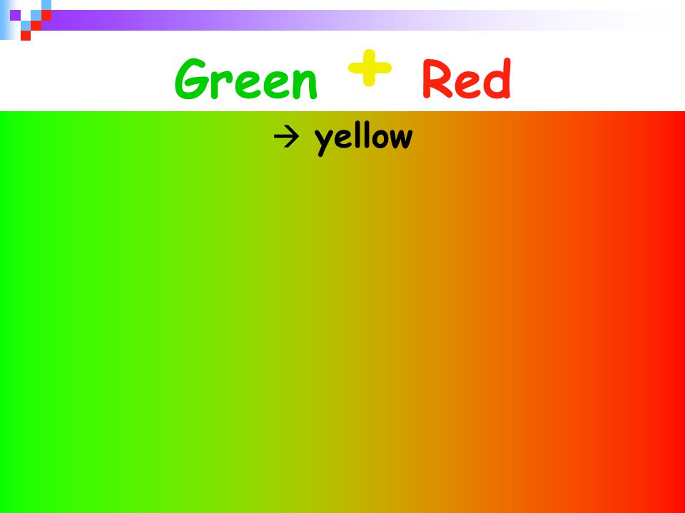31 Green + Red  yellow