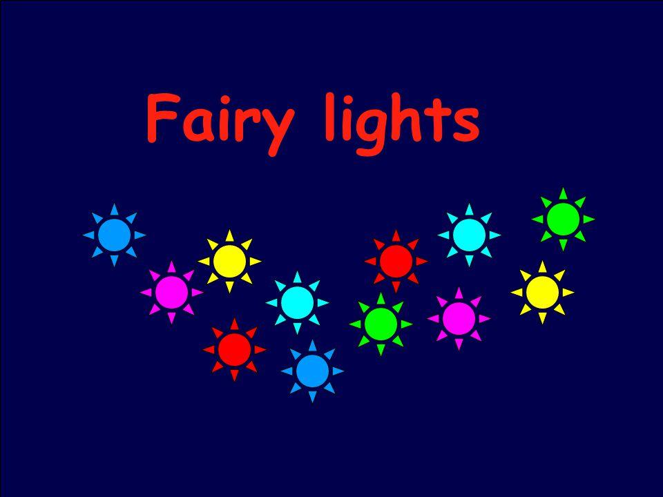36 Fairy lights
