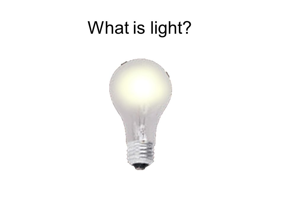 Why light is important I2I2