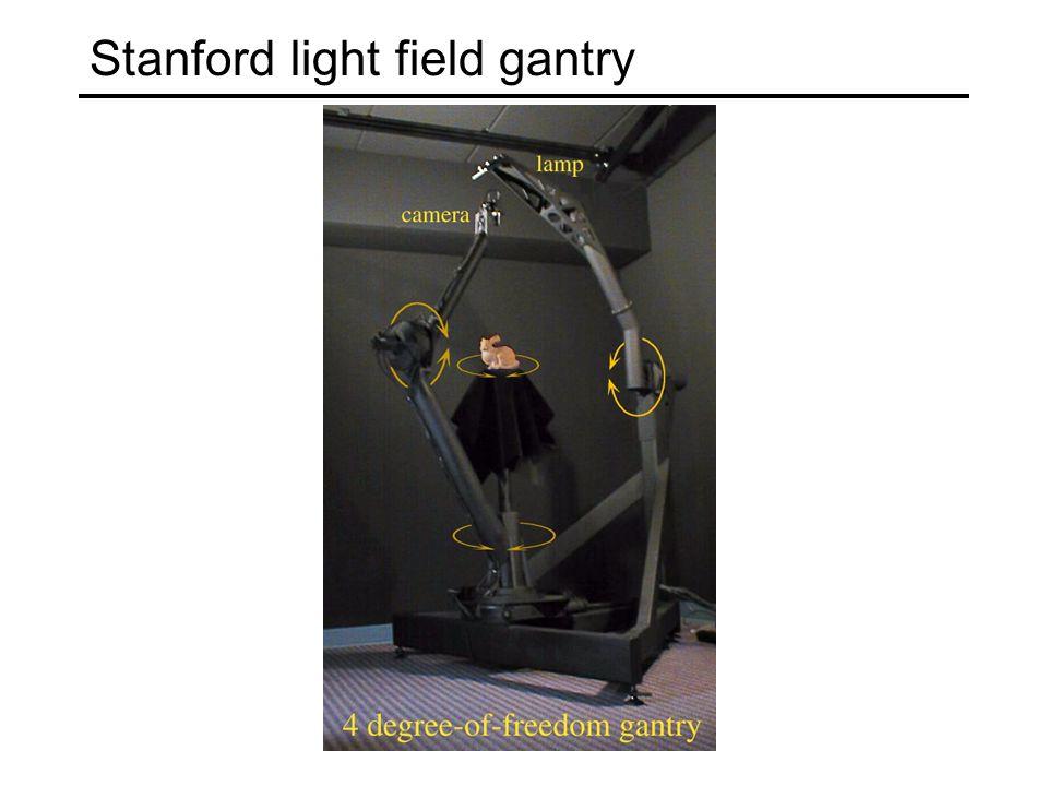 Stanford light field gantry