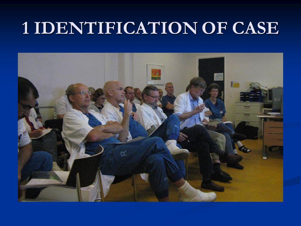 2 PRESENTATION OF CASE COLORECTAL FELLOW COLORECTAL FELLOW STANDARDISED PROFORMA STANDARDISED PROFORMA