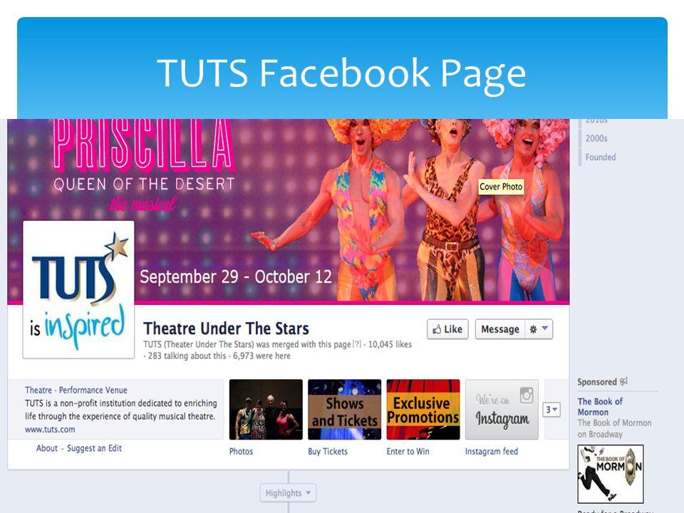 TUTS Facebook Page