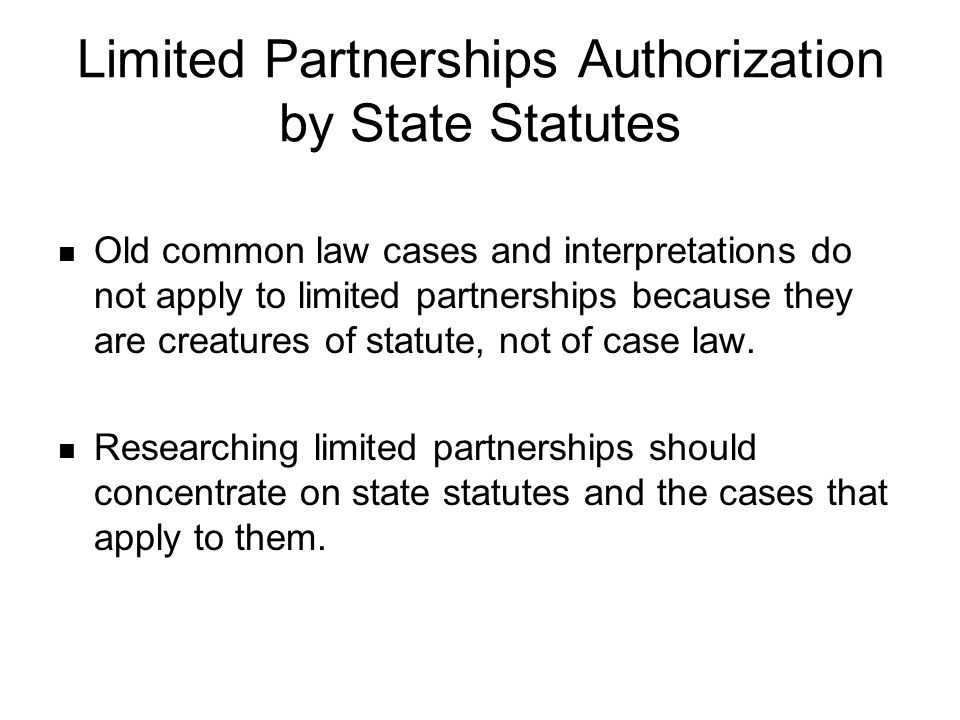 State governments require the following minimum information in the certificate of limited partnership: The name of limited partnership The street and mailing address of the agent for service of process The street and mailing address of the designated office of the limited partnership The name, street, and mailing addresses of all general partners
