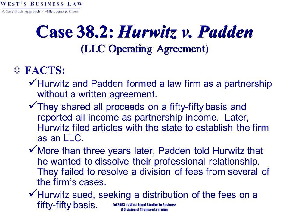 Case 38.2: Hurwitz v.