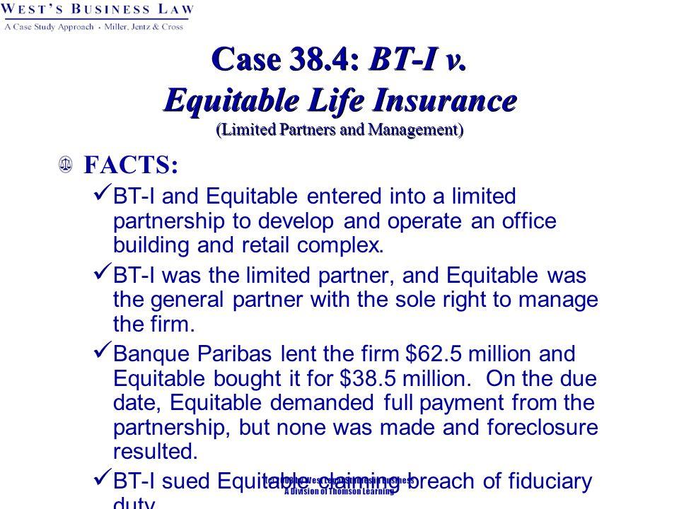 Case 38.4: BT-I v.