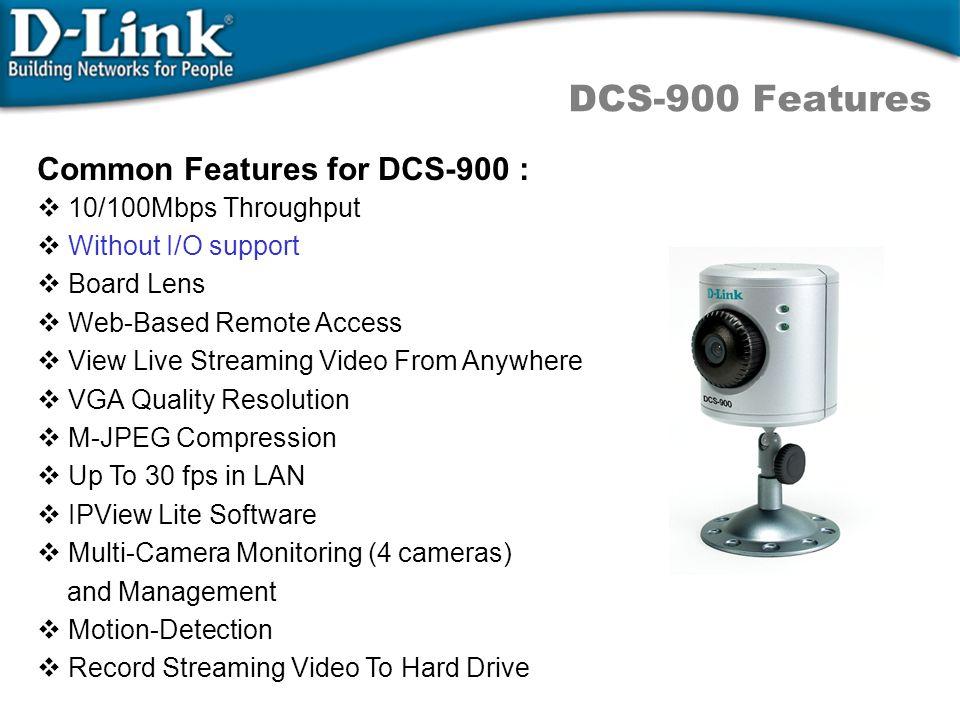 DCS-5300/W Technical Spec.