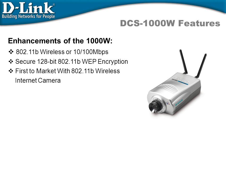 DCS-1000/W Technical Spec.