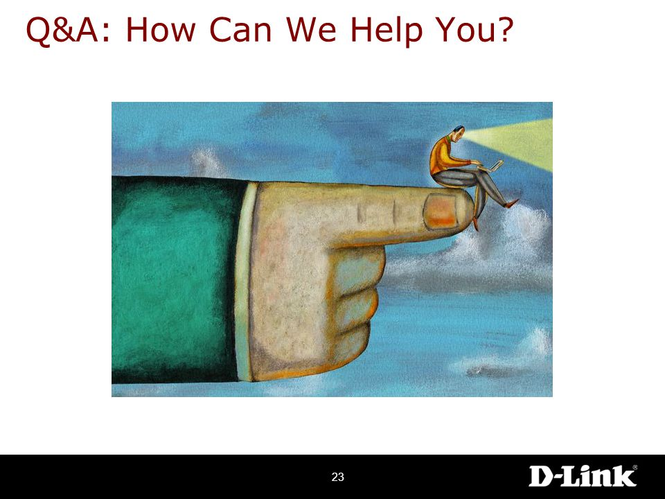 Q&A: How Can We Help You 23