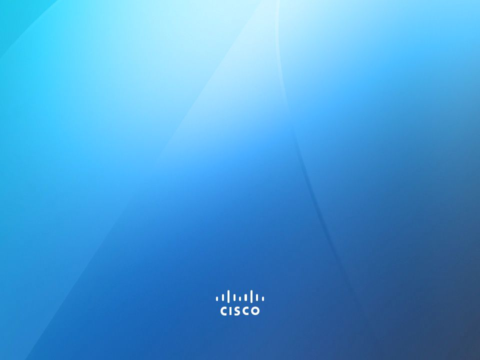 © 2013 Cisco and/or its affiliates. All rights reserved. 43