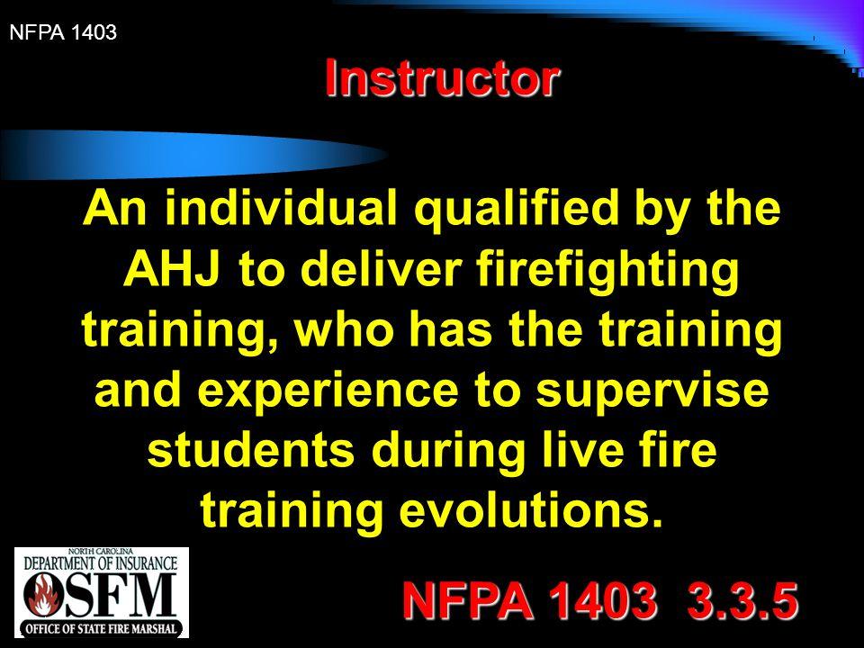 NFPA 1403