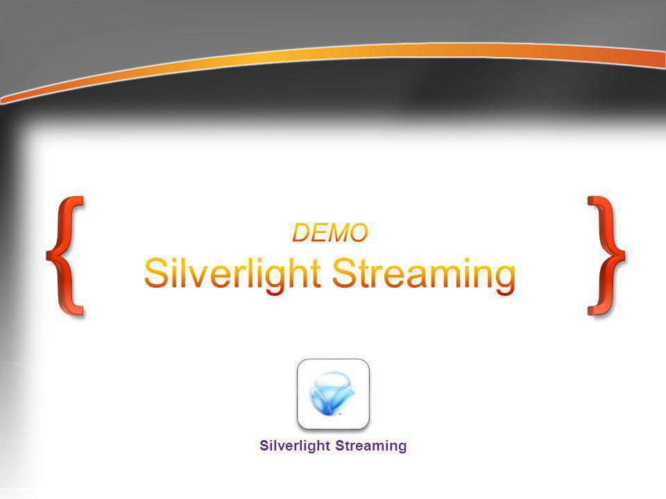 Silverlight Streaming