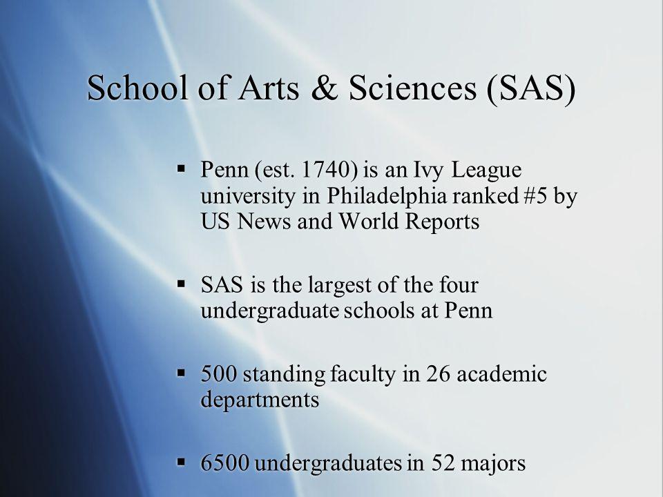 School of Arts & Sciences (SAS)  Penn (est.