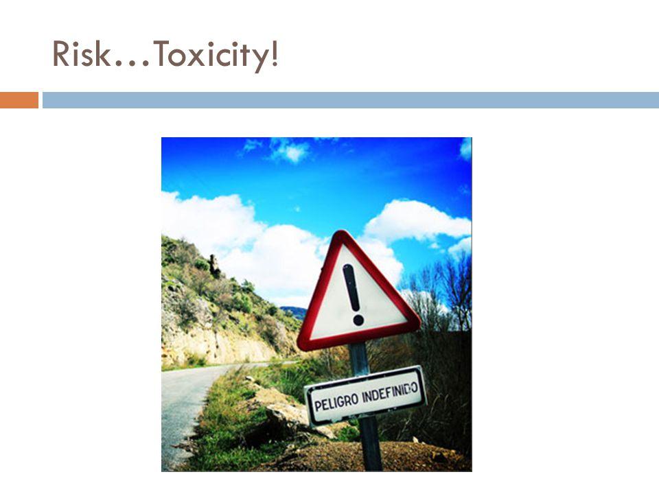 Risk…Toxicity!