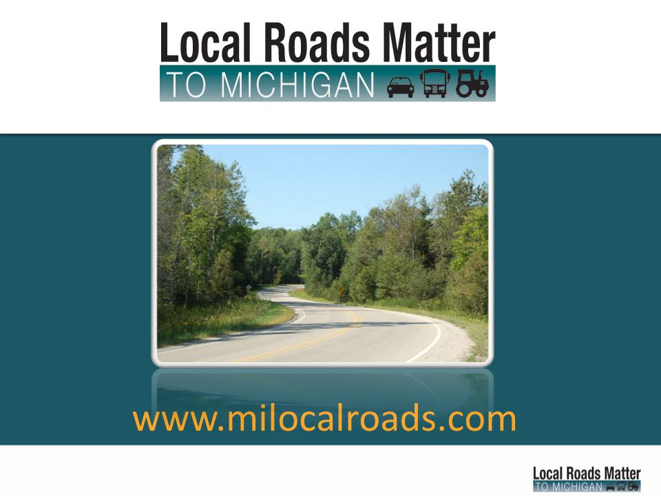 What you can do for local roads.Join the campaign online.