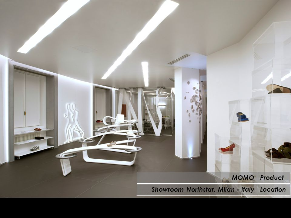 MOMOProduct Showroom Northstar, Milan - ItalyLocation