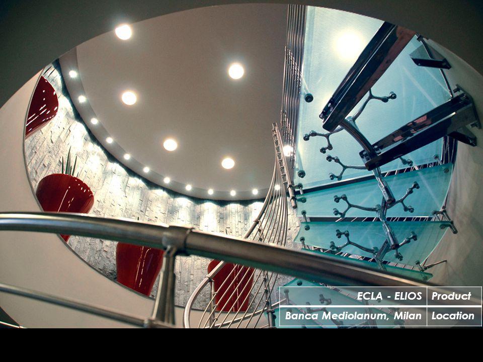 ECLA - ELIOSProduct Banca Mediolanum, MilanLocation