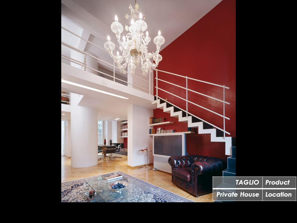 TAGLIOProduct Private HouseLocation