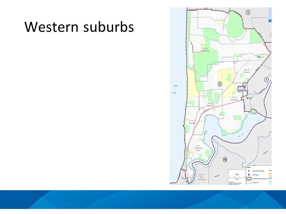Western suburbs