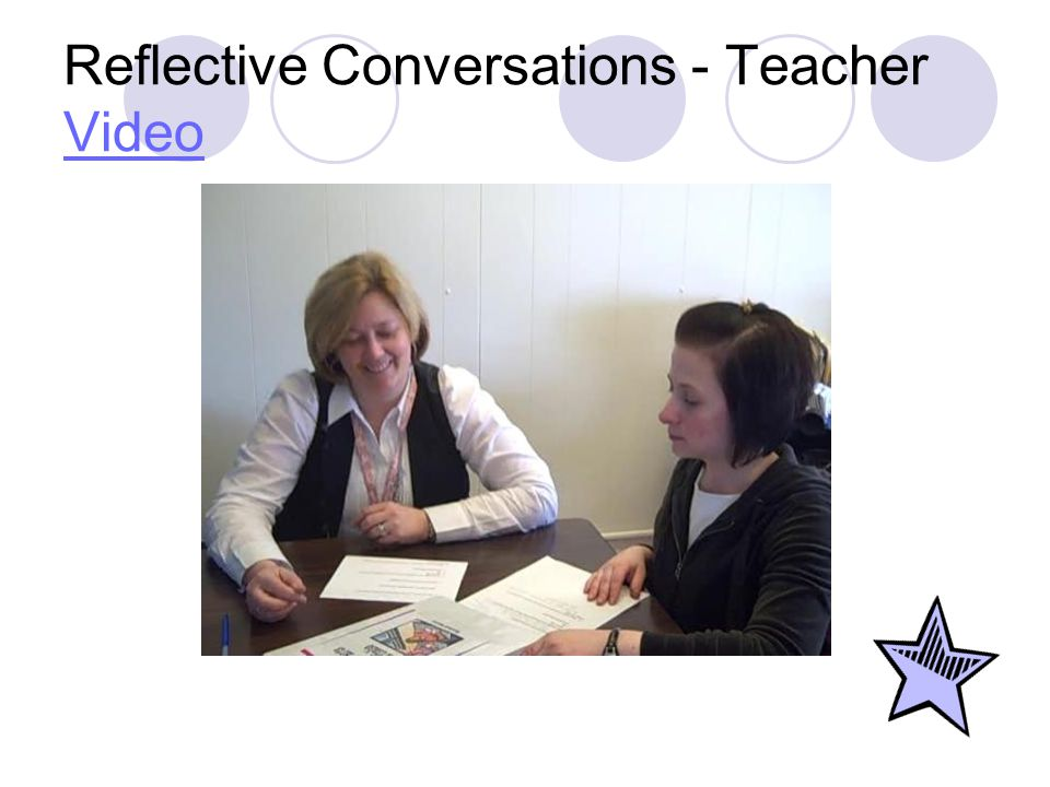 Reflective Conversations - Teacher Video Video