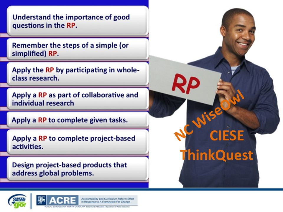 ThinkQuest CIESE NC WiseOwl