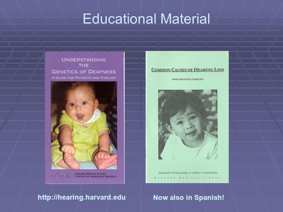 Now also in Spanish! Educational Material