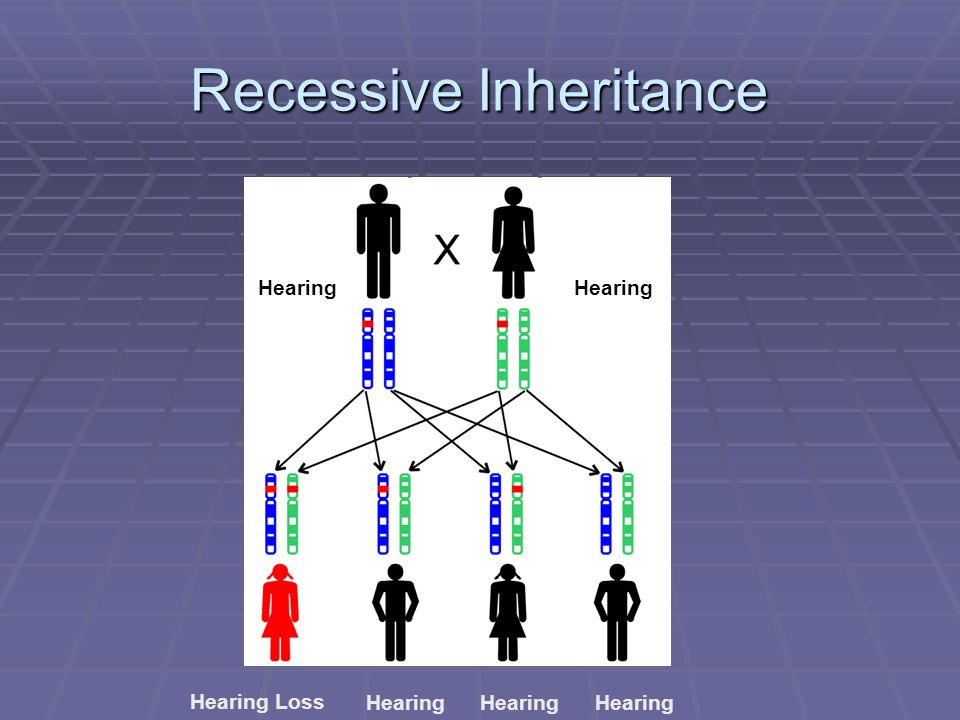 Recessive Inheritance Hearing Loss Hearing