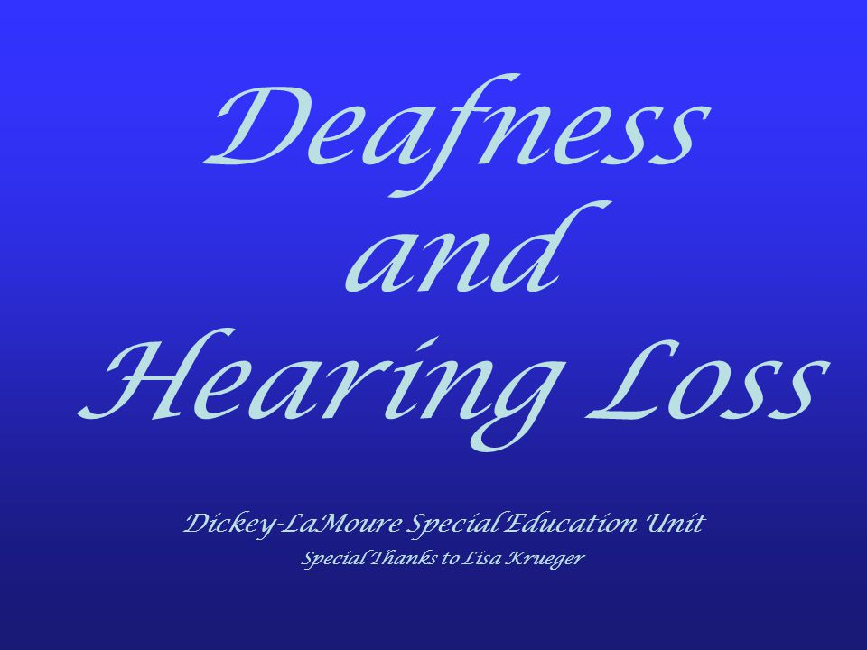 Cochlear Implants What are they.