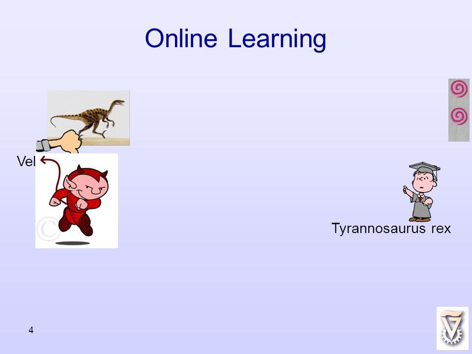 4 Online Learning Tyrannosaurus rex Velocireptor