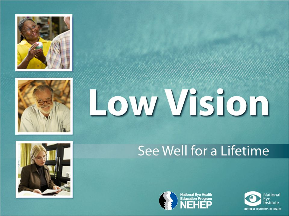 Is Vision Loss Part of Getting Older. Vision can change as we age.