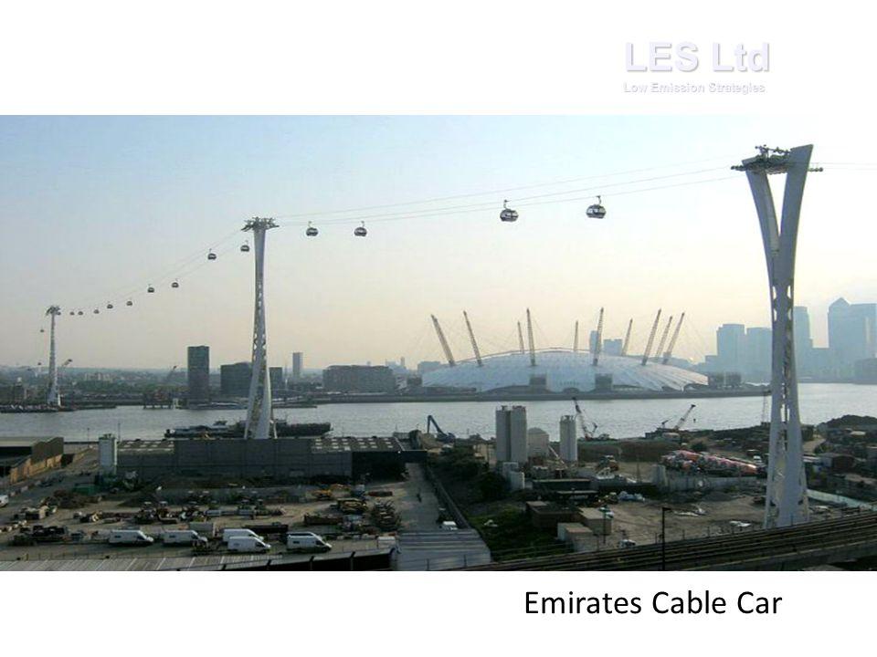 LES Ltd Low Emission Strategies Emirates Cable Car