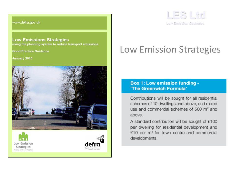 Low Emission Strategies LES Ltd Low Emission Strategies