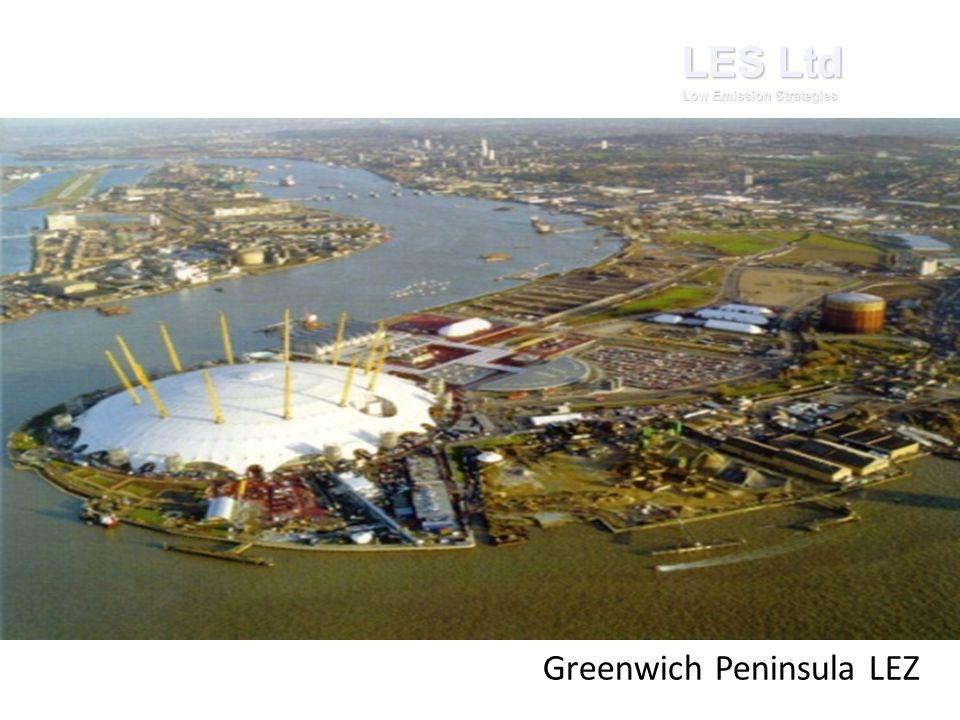 LES Ltd Low Emission Strategies Greenwich Peninsula LEZ
