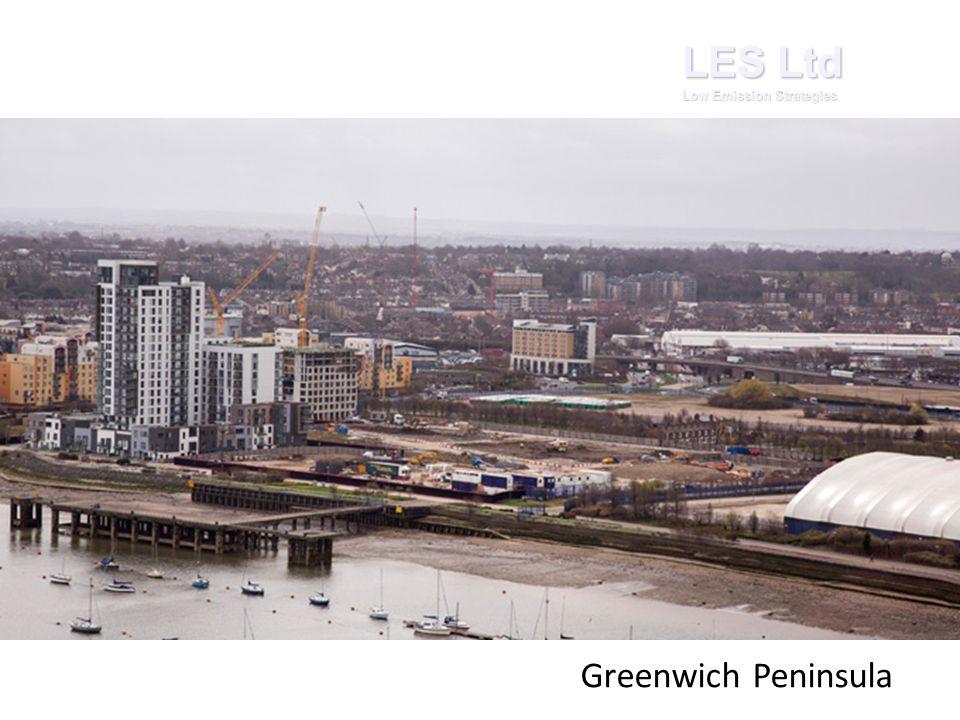 LES Ltd Low Emission Strategies Greenwich Peninsula